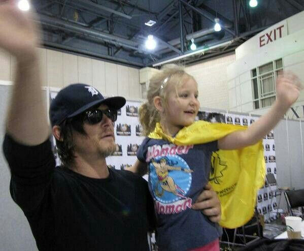 Bye everyone im leaving w/The Infamous Reedus
