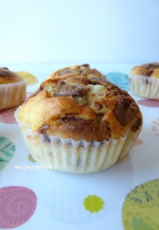 Kinderschokolade Muffins Penne Im Topf Kuchen Pinterest