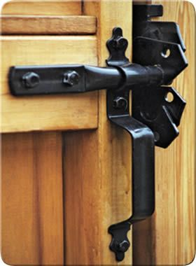 Attractive Wood Fence Gate Hinges And Latches Zamknięcie