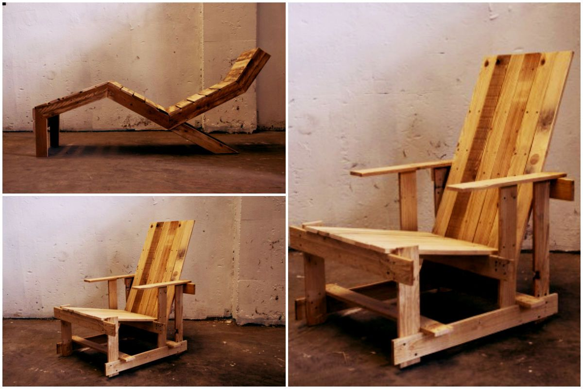 "The ""P"" Series: Pallet furniture's #Armchair, #Chair, #Furniture, #Pallets"