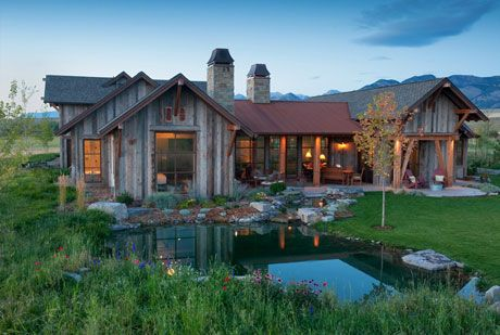 Beautiful Home In Montana Sbc Construction House Ideas
