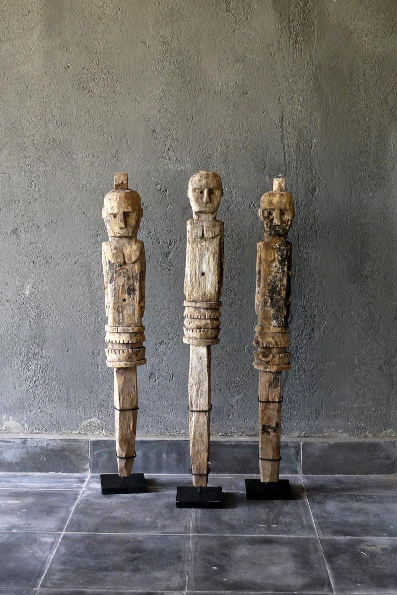 Old Wood Kadauma Sumba Figures Via Blaxsand Research