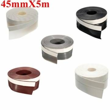 45mmx5m Window Door Silicone Rubber Sealing Sticker Seal Strip 3m Adhesive Sale Banggood Mobile Adhesive Windows And Doors Silicone Rubber