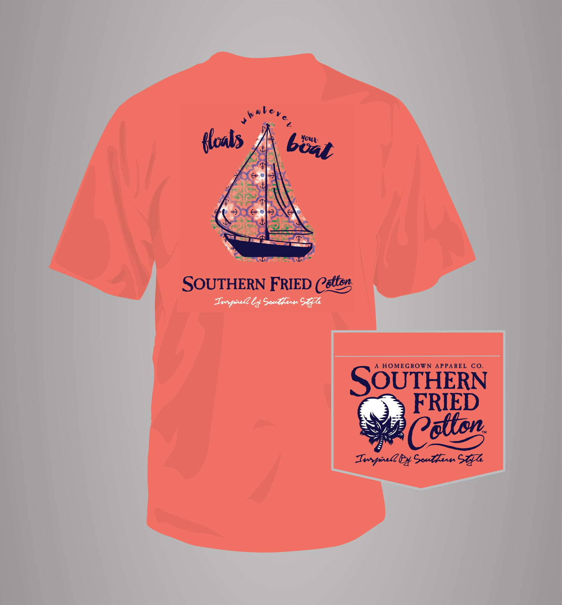 Southern Fried Cotton Short Sleeve