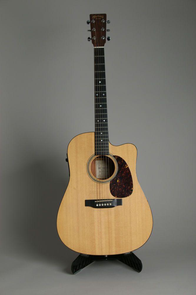 Martin Co Dc 16gte Electric Acoustic Guitar Martin Tkl Hard Case Acoustic Electric Guitar Guitar Acoustic
