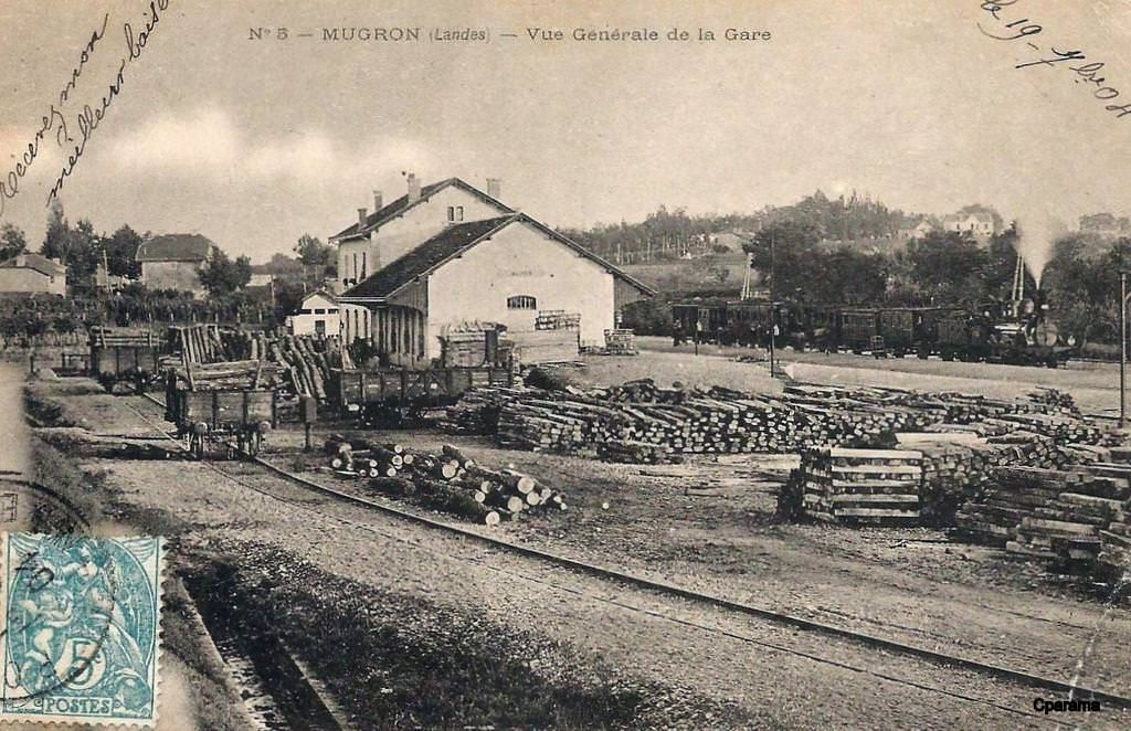 Mugron Landes Carte Postale