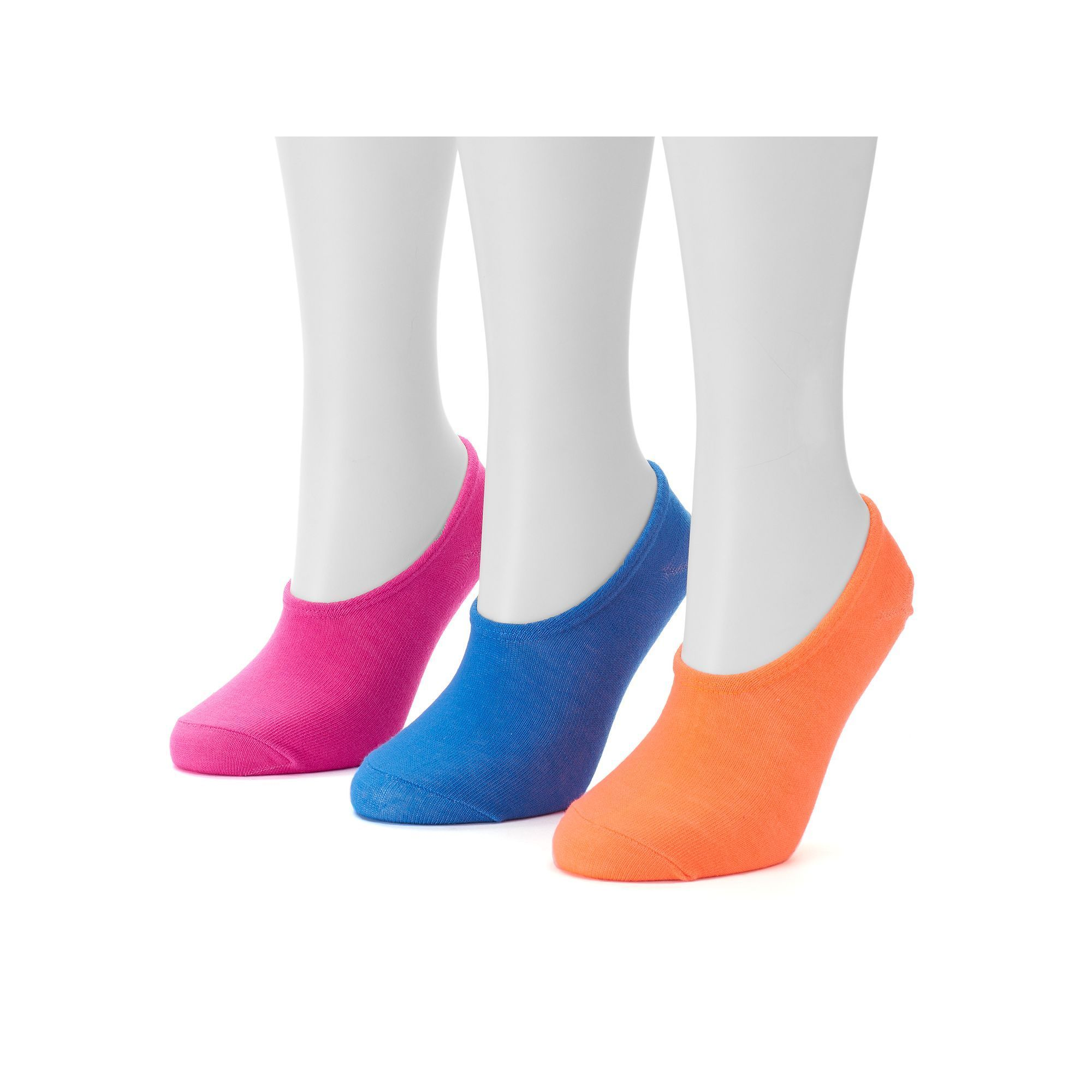Women's Converse Made For Chucks 3-pk. Logo Basic No-Show Socks, Size: 9-11, Ovrfl Oth