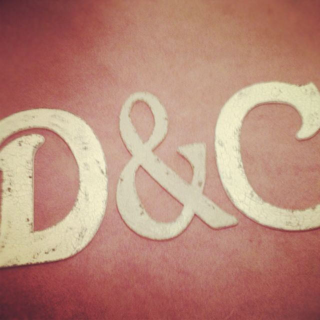 engagement gift! Wooden letters Perfect photo prop and house