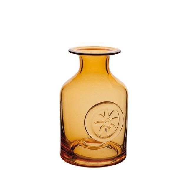 90 00 Sunflower Medium Midnight Crystal Flower Bottle With Images Flower Bottle Crystal Flower Crystal Decor