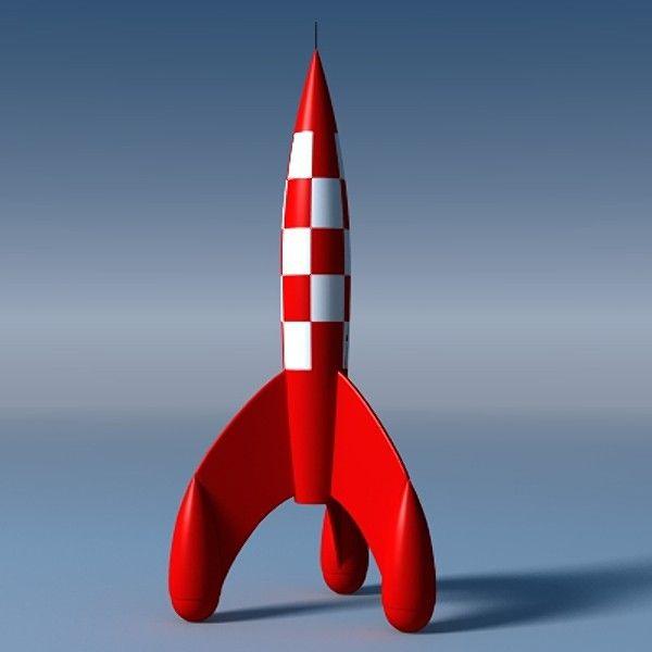 Tin Tin rocket XM-2 by Ramasaren
