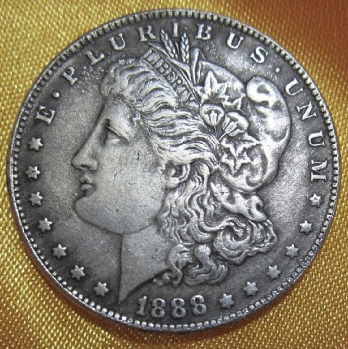 Pin By Knife Art Store On American 1 Dollar Silver Coin Currency Morgan Antique Commemorative Cellectible Coins Old Silver Coins Silver Coins Coins