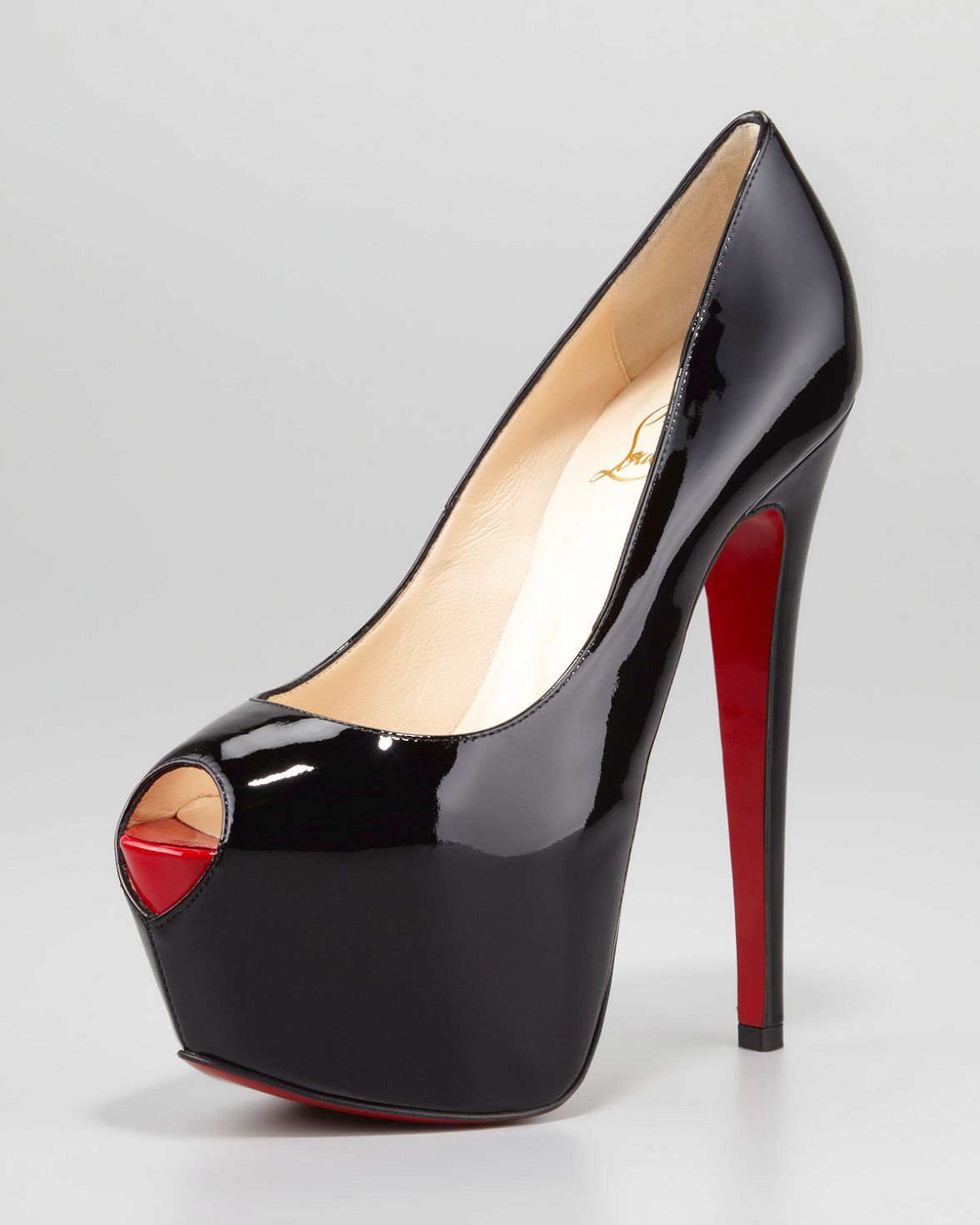 christian louboutin amyada 100 leather t bar pumps