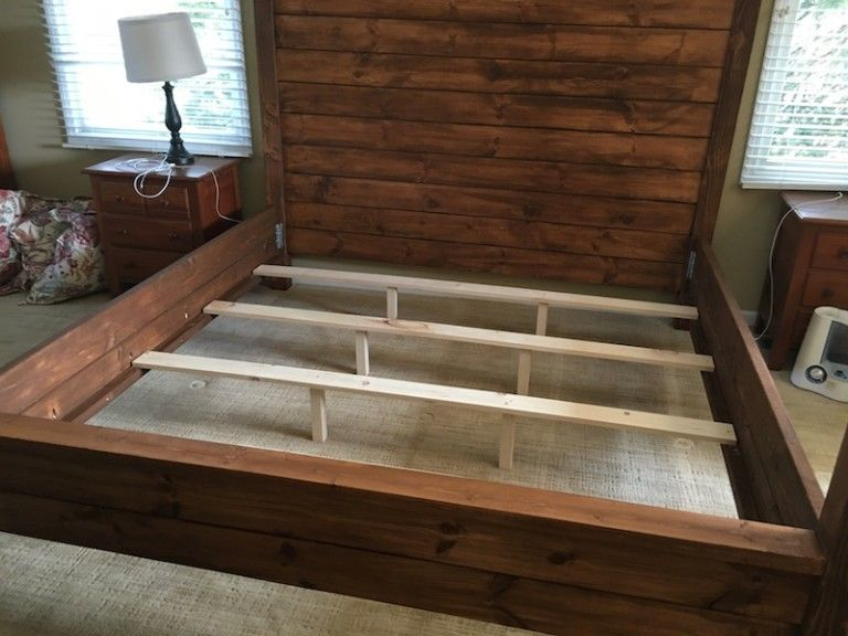 Canopy bed king size homemade beds homemade bed frame