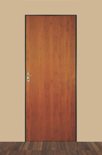 Flat Wood Door Kit SteelMad MGM 215cmx65cm Melamine M…