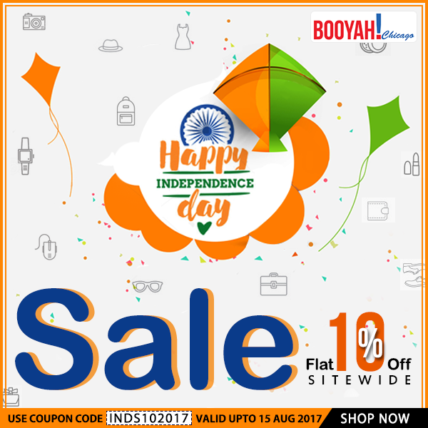 Celebrate Independenceday with special discount on
