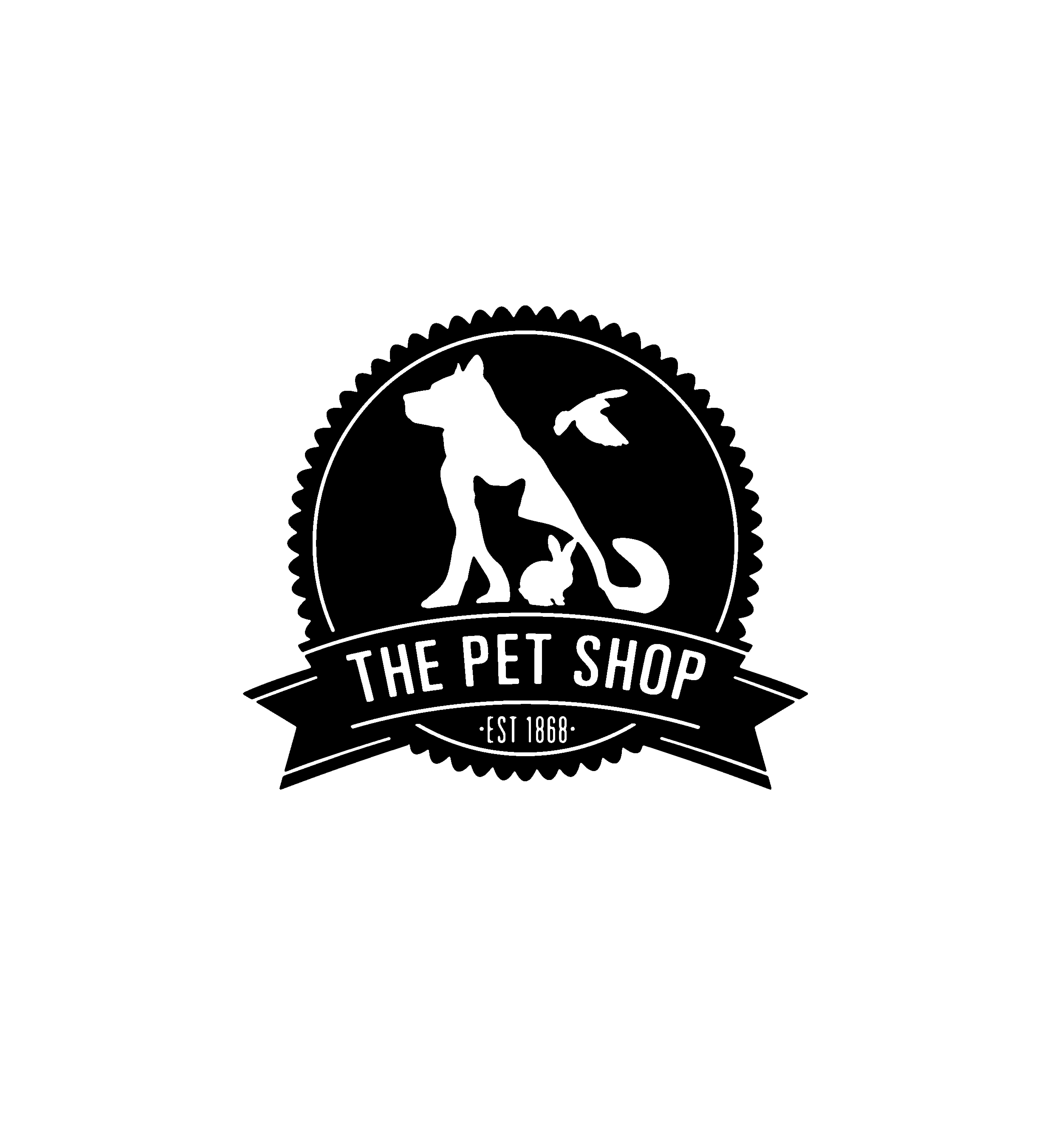 The Pet Shop, Ripon / logotype designed by Toby Designs