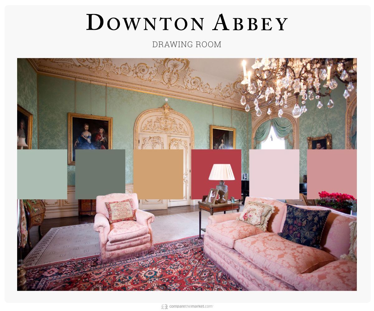 these color palettes are inspired by 8 iconic tv living on living room color inspiration id=49164