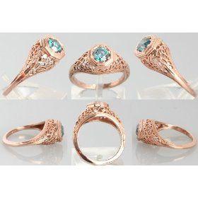 Rose Gold Rings RingOBlog Directory of Wonderful Rings Part