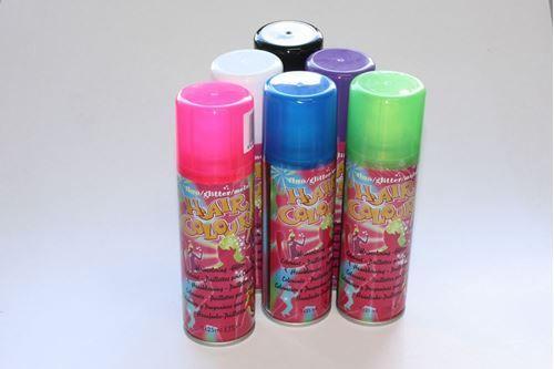 pink hårfarve spray