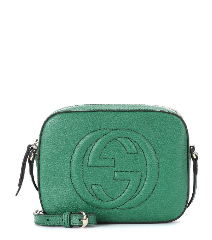34b87e9dcb Gucci - Borsa a tracolla Soho Small in pelle - L'iconica doppia G in ...