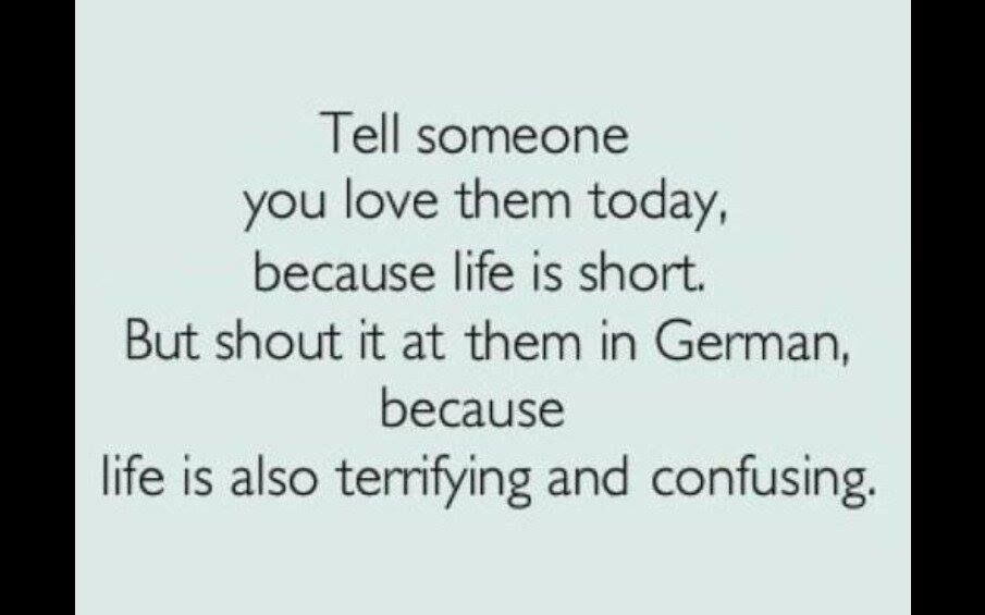 Ich liebe dich pronounce