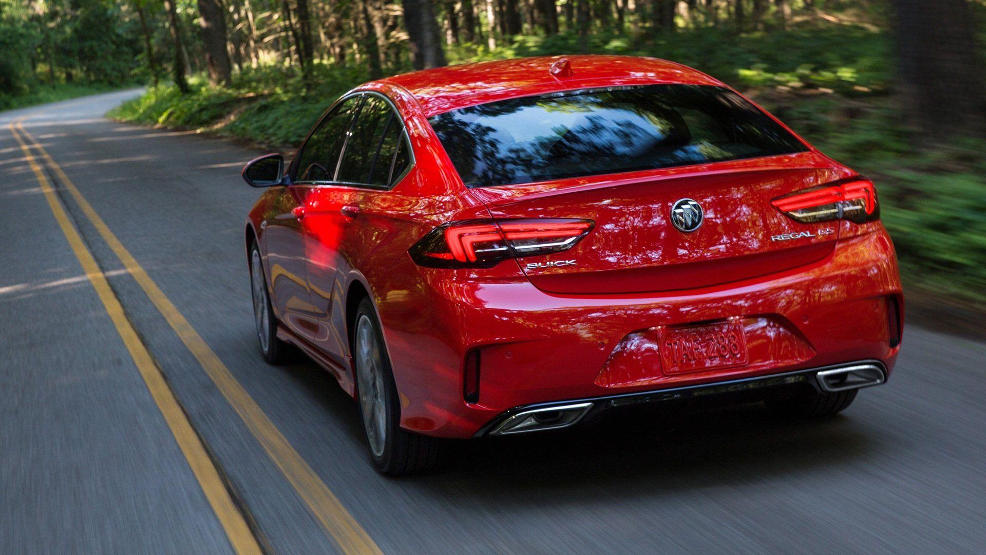 2021 Buick Regal Gs Coupe Concept