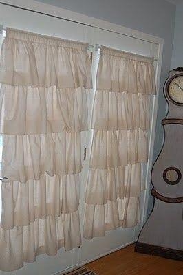 Mururoa volantes cortinas por PaulaAndErika en Etsy