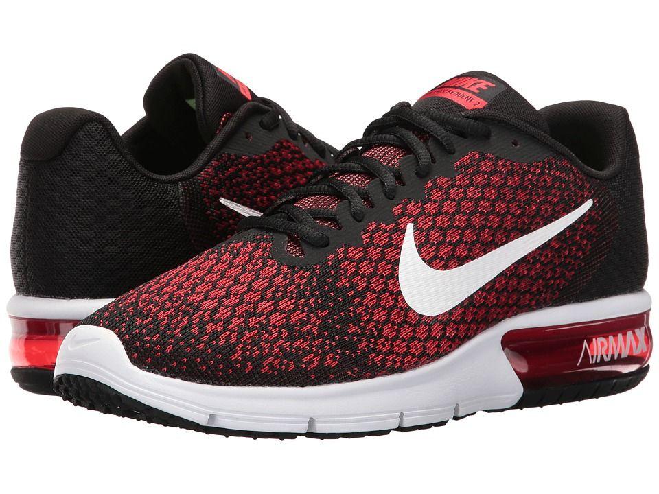 Nike Air Max Sequent 2 Men's Running Shoes BlackWhiteTeam