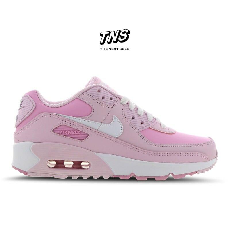 Nike Air Max 90 Grade School Pink Shoes cv9643 100 en 2020
