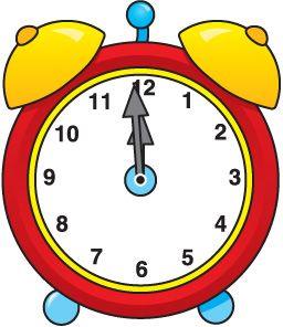 new year clock jpg 256 296 im genes de carson pinterest rh pinterest com School Supplies Clip Art School Time Clip Art