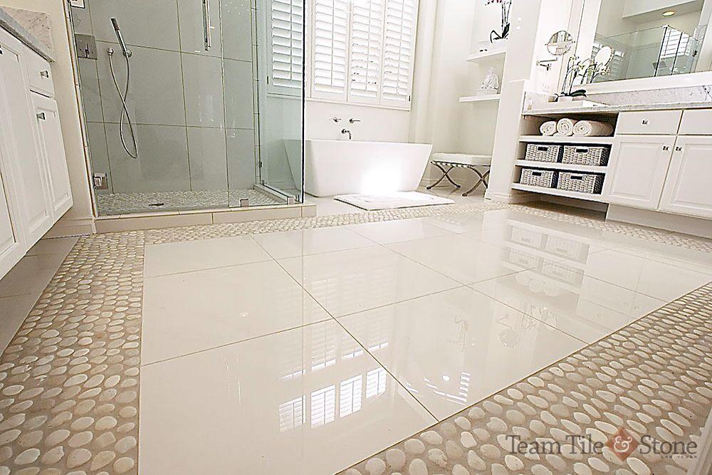 Stone Floor Master Bathroom Pinterest Stones Floors And Masters