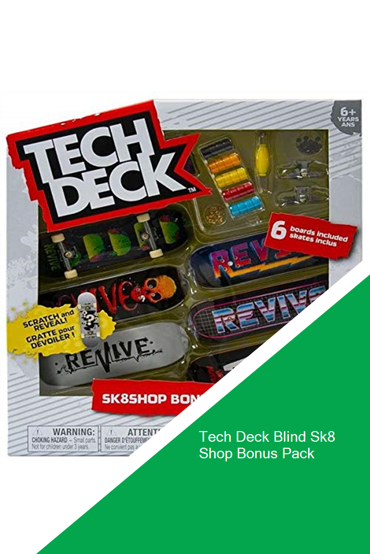 Tech Deck Blind Sk8 Shop Bonus Pack in 2020 Tech deck