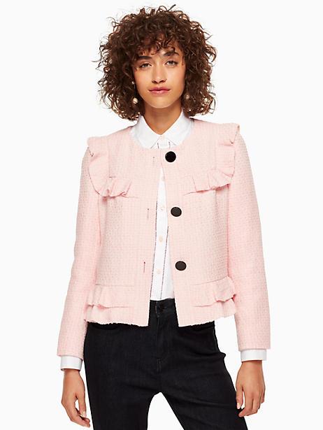 67ea253f1f Ruffle Tweed Jacket