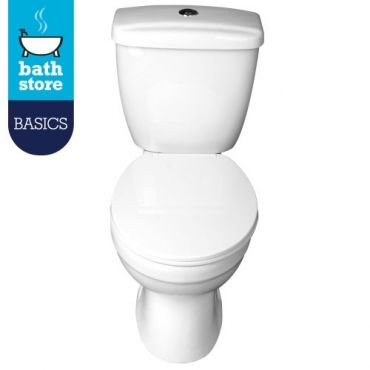 Demi Close Coupled Wc Inc Seat And Dual Flush Wras