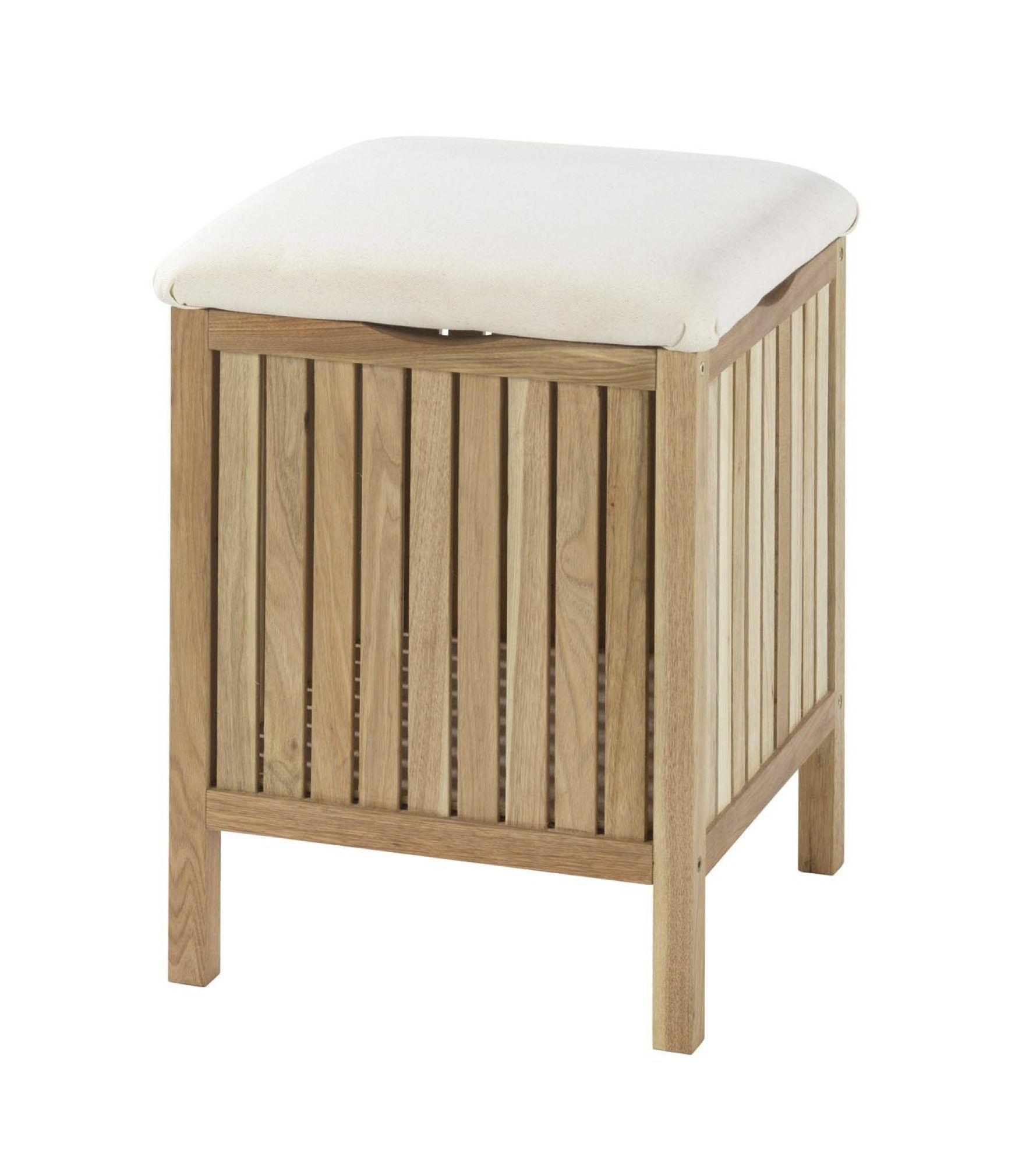 Hocker Norway Lbh 39x39x52 Cm Badhocker Hocker Walnußholz