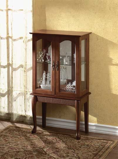 Best Elegantly Proportioned Curio Cabinet Graciously Accents 400 x 300