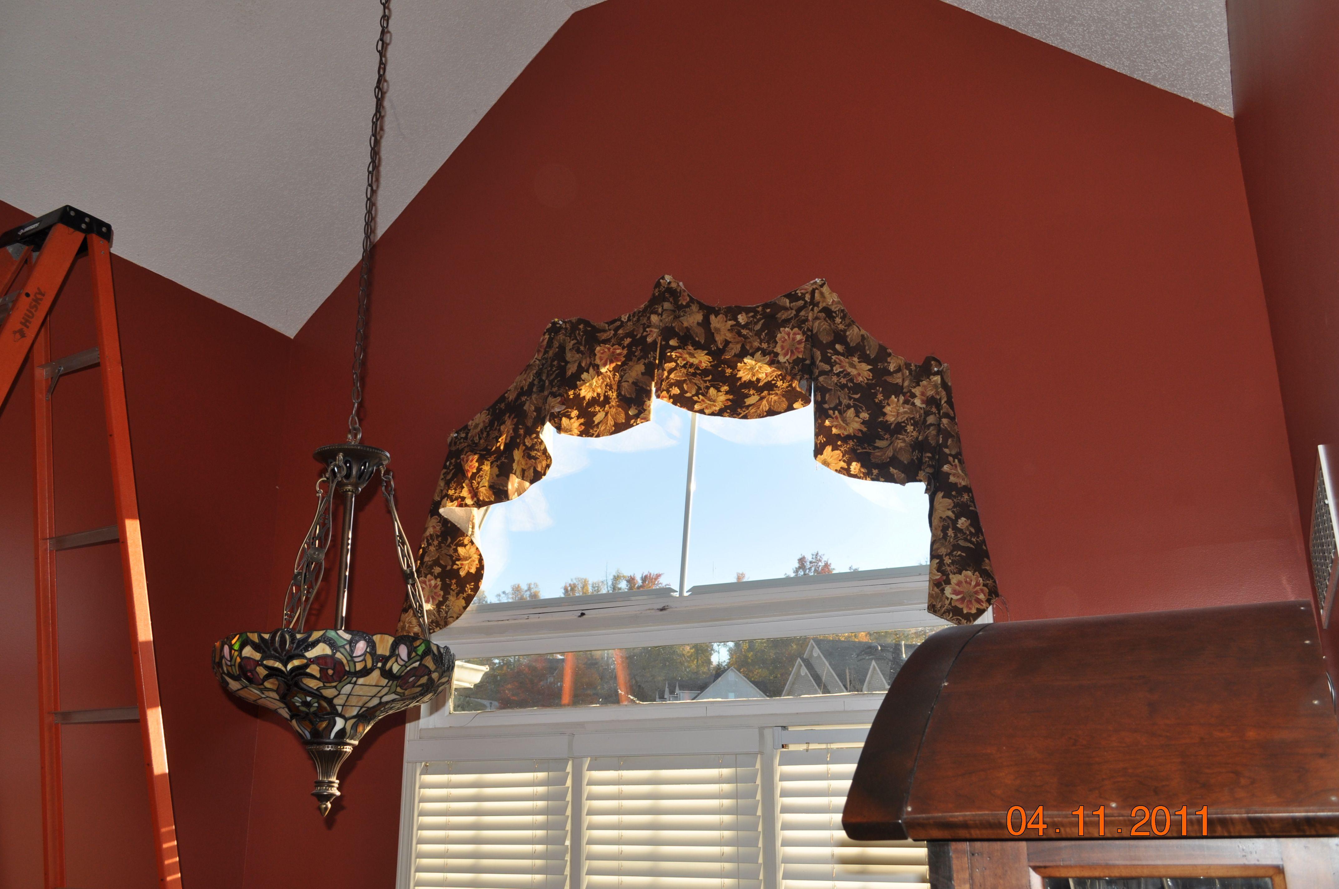 You can have drapes on half circle windows | Half circle ...