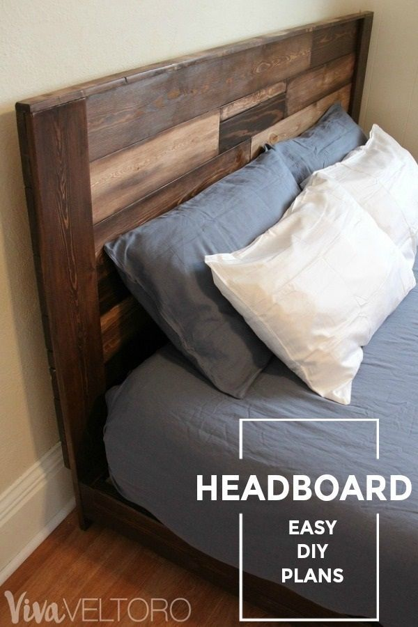 Make your own wooden headboard! We\'ll show you how to make a DIY ...