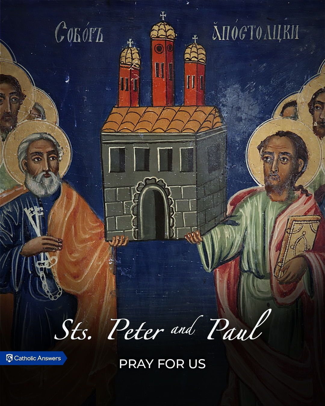 June 29th The Solemnity of Sts. Peter and Paul. saint