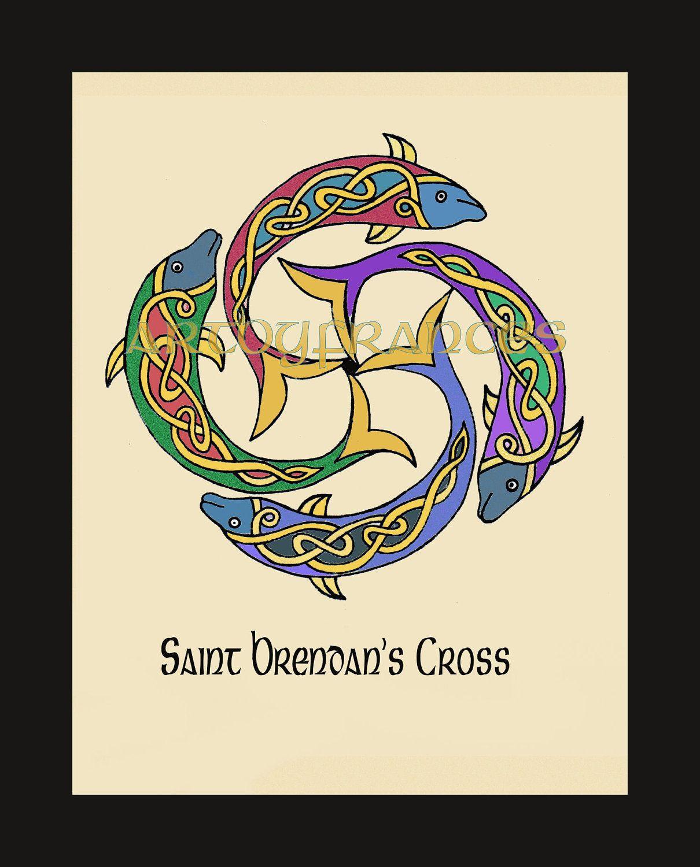 st. brendan's cross, seafarers