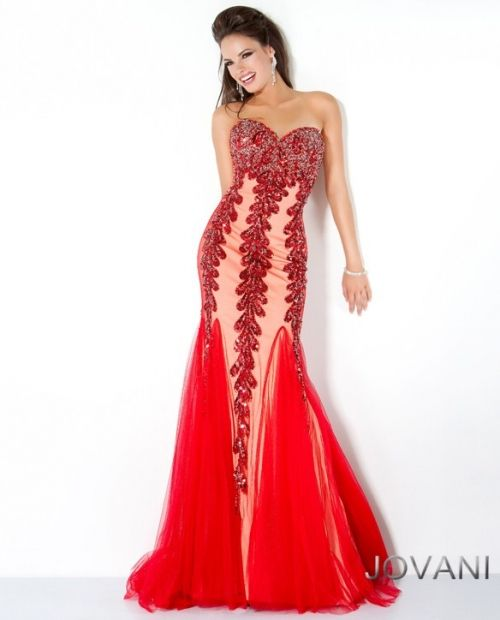 Jovani 2012 Prom Dresses Collection Sequin Goddess Bottom Prom Gown ...
