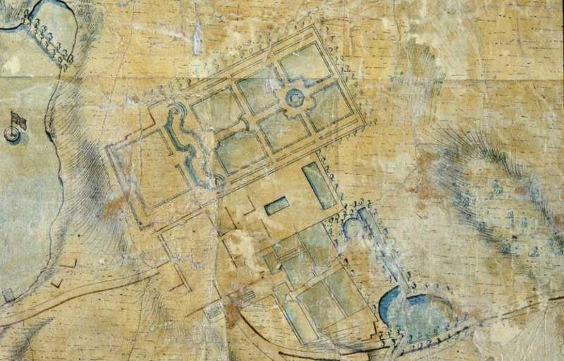 kart over frogner File:Kart over barokkhagen Frogner Hovedgård (map of the baroque  kart over frogner