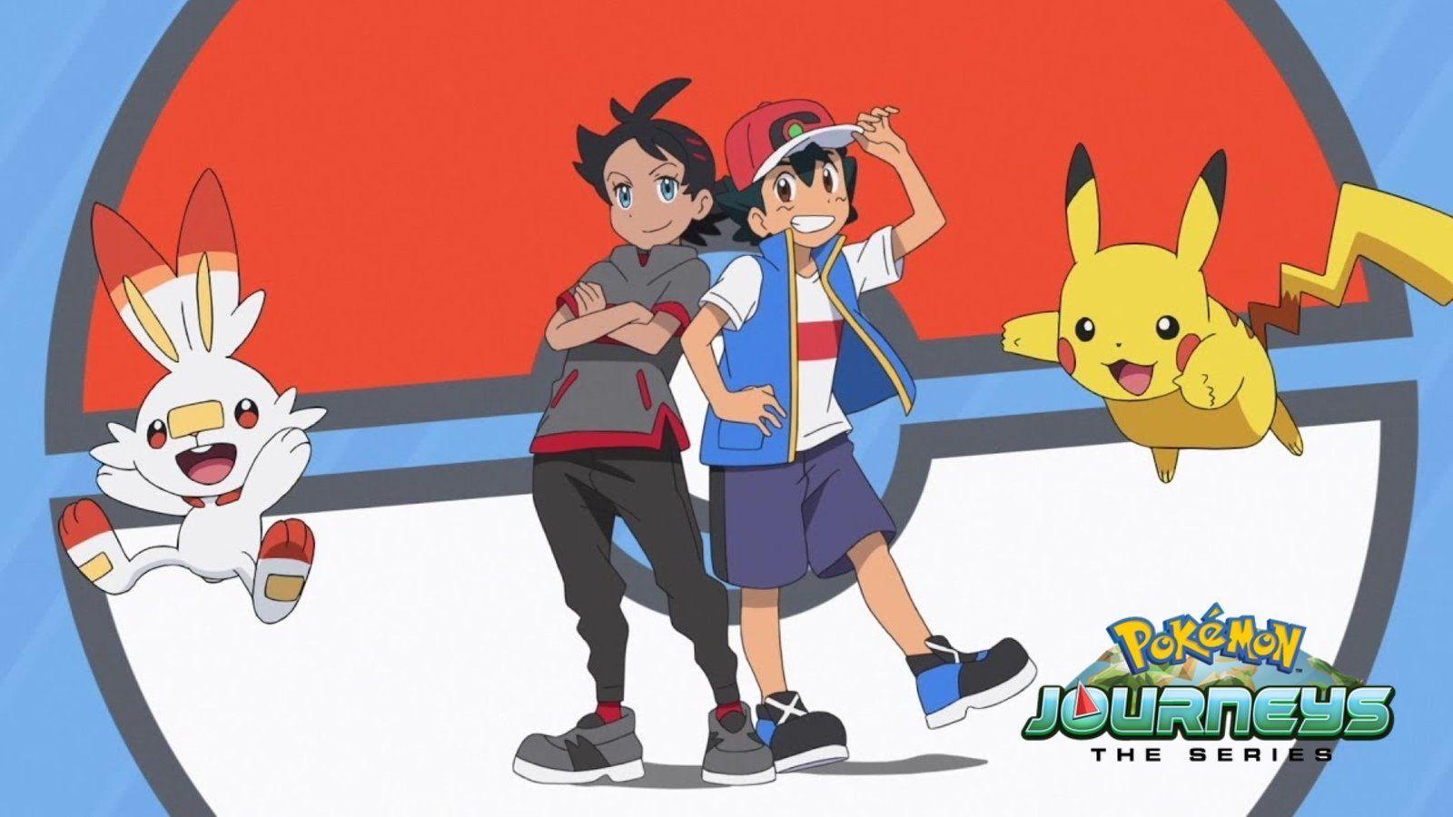 Netflix Nieuwe Afleveringen Van Pokemon Journeys Algemeen Nieuws Nintendoreporters Pokemon New Pokemon Cute Pokemon Wallpaper