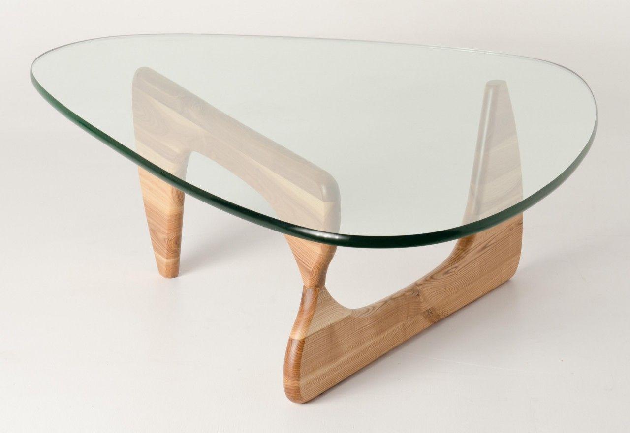 Premium Replica Noguchi Coffee Table Natural American Ash Timber 20mm Tempered Glass Noguchi Coffee Table Modern Glass Coffee Table Coffee Table [ 881 x 1280 Pixel ]