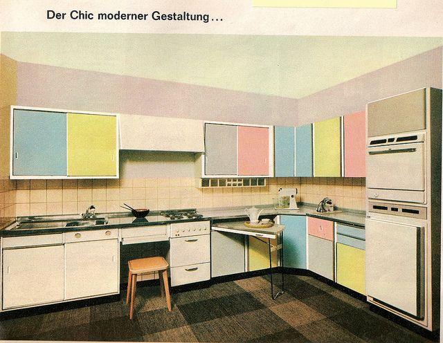 1960 Film und Frau Heft 11 - Resopal Werbung - Pastellküche