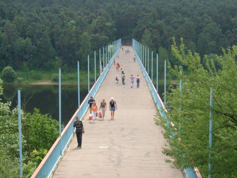 Have A Refreshing Walk In Panemunės Park Kaunas Stairs Park
