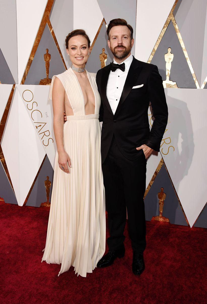 Oscars the bestdressed couples on last nightus red carpet