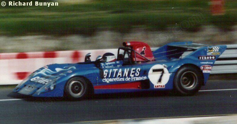 7 - Lola T282 Ford - Equipe Gitanes