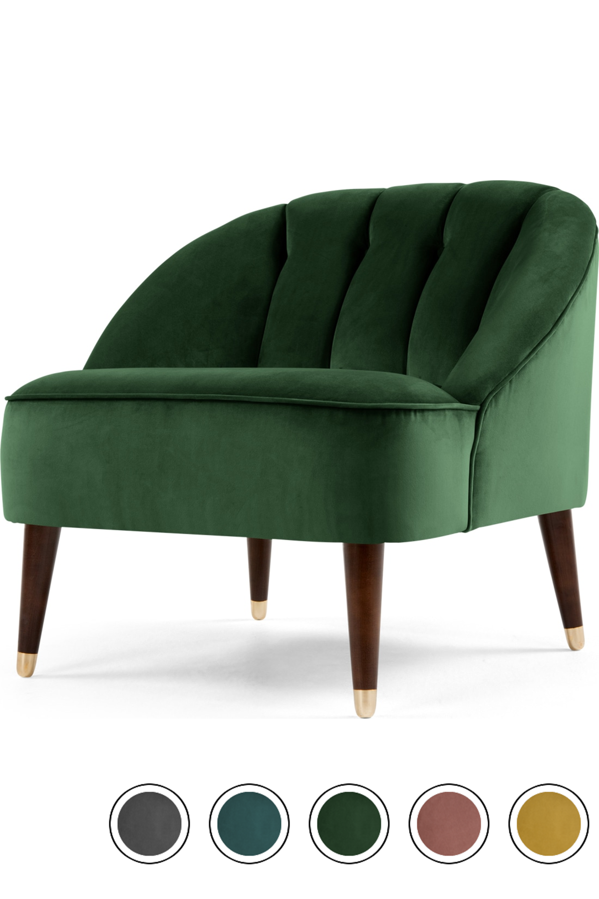 Best Made Forrest Green Velvet Armchair Blue Velvet Chairs 640 x 480