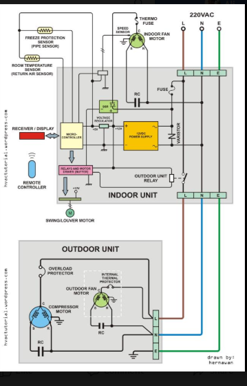 Pin By Student On Cooling Electrical Wiring Diagram Electrical